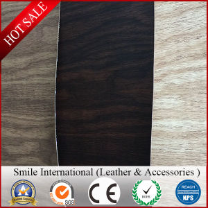 Wood Leather for Sofa and Car Seat New Design Synthetic Leather Wholesales Colorful pictures & photos