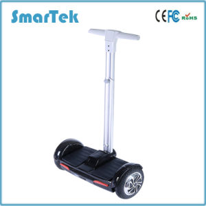 Smartek City Mobility 8 Inch Gyropode Electric Seg Way Style Two Wheels Hoverboard Segboard Patinete Scooter with Control Handle Bar for Patrol S-011 pictures & photos