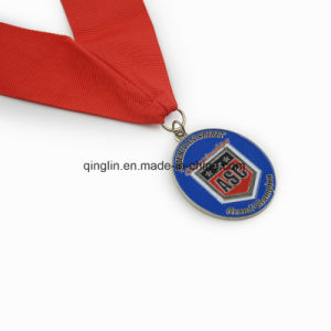 Custom Die Casting Sliver Plated Memorial Medallion pictures & photos