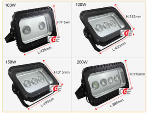 120W High Power Factory Price Outdoor Lighting LED Flood Light pictures & photos