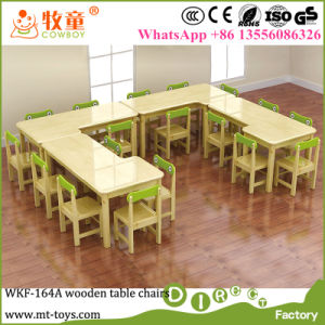 China Nursery School Kids Wooden Table And Chairs Kindergarten - Nursery tables and chairs