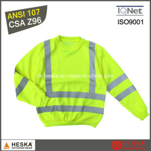 3m Heat Transfer Tape Reflective Long Sleeve Shirt pictures & photos