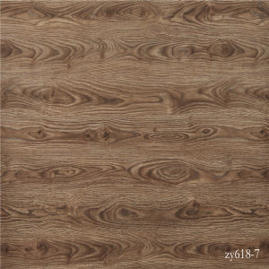 Stained Oak Strips Grain Base Paper for Furniture pictures & photos