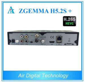 Multistream TV Linux OS Enigma2 Zgemma H5.2tc Plus DVB-S2X/T2/C+DVB-S2 Satellite TV Receiver pictures & photos