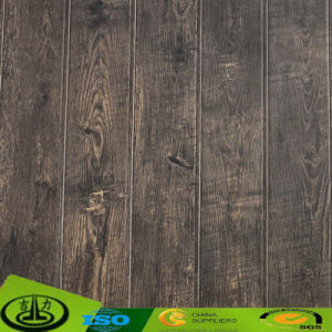 Clear Wood Texture Melamine Impregnated Paper for Floor pictures & photos