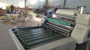 Thermal Roll Film Manual Hydraulic Lamination/Laminating Machine pictures & photos