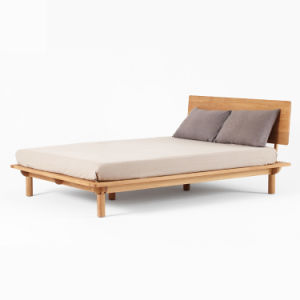 Trundle Single Double Queen King Size Wooden Bed pictures & photos
