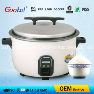 Big Drum Rice Cook with White Color Shell & Flower Printing pictures & photos