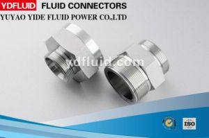 Hydraulic Carbon Steel/Stainless Steel Swagelok Pipe Fittings pictures & photos