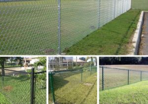 Chain Link Fence for Volleyball Court pictures & photos