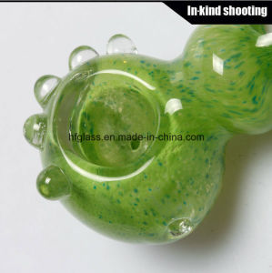 Glass Wholesale Smoking Hand Pipes Spoon Pipe Hookah Tobacco Flower pictures & photos
