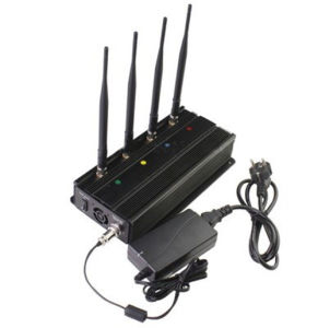 4 Band Desktop 2g 3G Mobile Phone Signal Isolator/Jammer/Blocker/Breaker pictures & photos