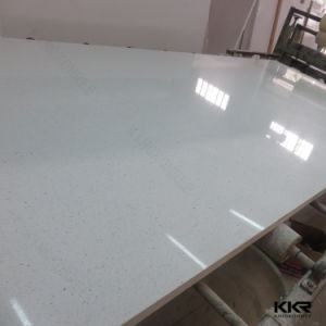 Factory Price Pure White Quartz Slab for Wall Panel pictures & photos