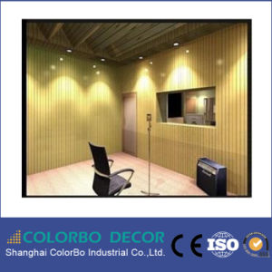 Interior Decoration Perforated Wooden Acoustic Panel pictures & photos