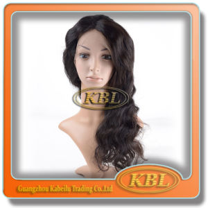 Kbl Hair Products Hot 100% Brazilian Human Hair Full Lace Wigs pictures & photos