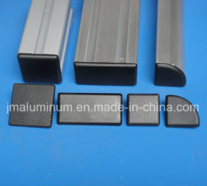 Plastic Nylon Cover Profile Parallel Fastener & Cover Profile End Cap Black pictures & photos