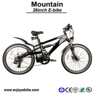 Men′s Mountain Motorcycle Electric Bike E-Bicycle (PE-TDE05Z-1)