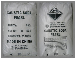 Caustic Soda with Pearl & Flakes Caustic Soda pictures & photos