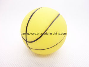 Yellow Child Playing Sport Ball pictures & photos