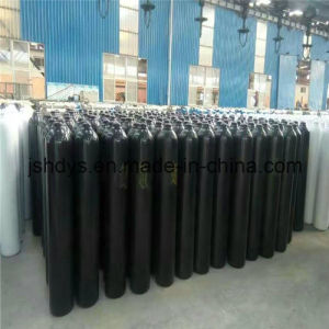40L Seamless Steel Oxygen Hydrogen Argon Helium CO2 Gas Cylinder (GB5099) pictures & photos