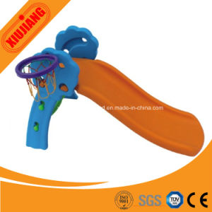 Kids Game Toy Plastic Small Outdoor Slide for Playground pictures & photos