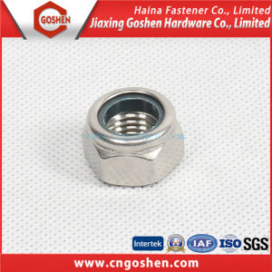 DIN985 Nylon Lock Nut Stainless Steel with High Quality pictures & photos