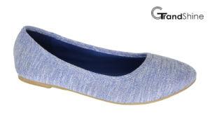 Women′s Canvas Flat Casual Ballet Shoes pictures & photos