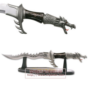 Dragon Craft Knife Fantasy Knife Home Adornment 50cm pictures & photos