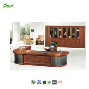 MDF High End Office Table with Wood Veneer pictures & photos
