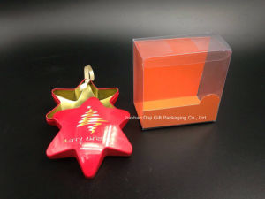 Hexagram Christmas Gift Tin Box (HS001-V3) pictures & photos