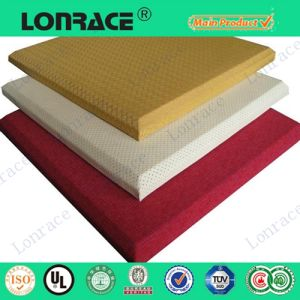 High Quality Polyester Fiber Acoustic Panel pictures & photos
