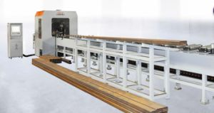 Rhs Pipe Cutting Machine; Rectangle Tube Cutting Machine pictures & photos