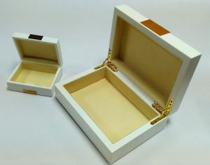 White Matt Jewelry/Storage Wooden Box pictures & photos