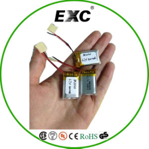 Rechargeable Li-Polymer Battery 802045 3.7V 400mAh Li-ion Battery pictures & photos