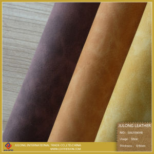 Yanbuck Two-Tone Printing PU Leather (S067) pictures & photos