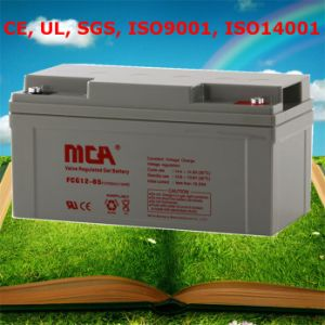 12V Gel Cell Batteries 12V Battery Power Pack 65ah pictures & photos
