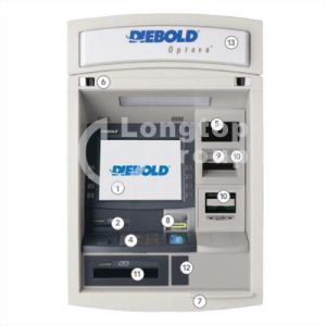 Diebold Automated Teller Machine Through The Wall ATM Opteva 760 pictures & photos