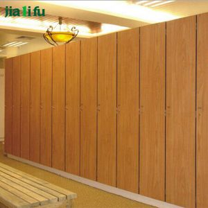 Jialifu Modern Storage Electronic Lock HPL Gym Locker pictures & photos