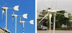 3kw Solar PV Wind Power Hybrid Statioin pictures & photos