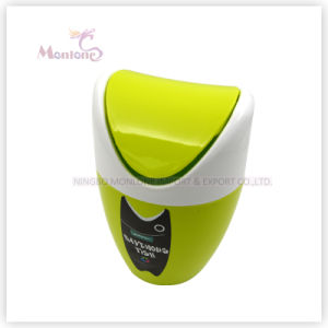 Household Mini Desktop Table Plastic Dustbin Waste Bin pictures & photos