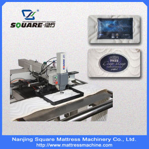 Automatic Border Label Tacker Machine for Mattress Label Fixing pictures & photos