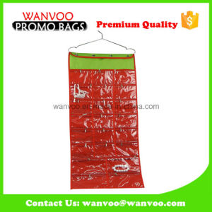 Waterproof PVC with Nylon Hanging Shower Organizer for Underwear pictures & photos