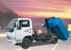 Sinotruk HOWO 4X2 Swing-Arm Garbage Truck pictures & photos