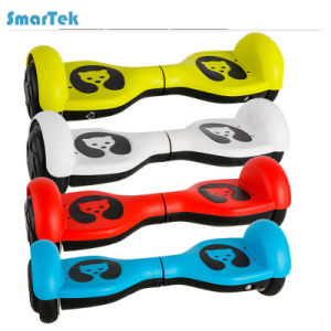 Smartek 4.5 Inch Portable Smart Magic Two Wheel Mini Self Balance Scooter Patinete Electrico for Children Gift S-003 pictures & photos