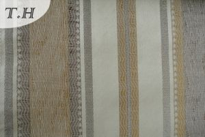2016 Noble Jacquard Sofa Fabric with Vertical Stripes (FTH31859B) pictures & photos