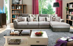 New L Shaped Sofa Designs, Arab Style Living Room Sofa Set pictures & photos