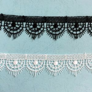 Delicate Craftship Popular Flower Style Polyester Embroidery Lace pictures & photos