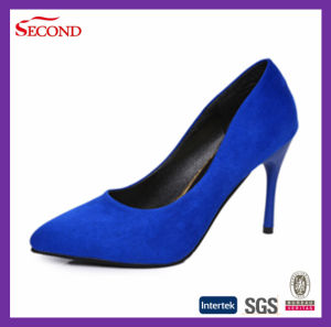 Four Colors Suede Women High Heels pictures & photos
