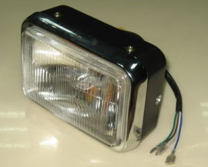Motorcycle Parts Motorcycle Headlamp Assy for Cg125 New Model pictures & photos