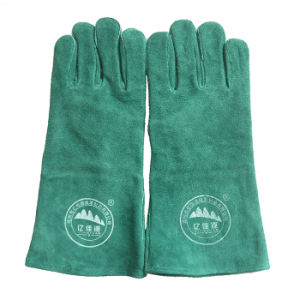 Industrial Safety Leather Gloves for Welding pictures & photos